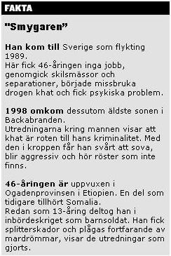 Faktaruta i GT/Expressen